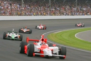 Wireless data telemetry from Indy racecars